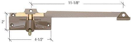 C.R. LAURENCE H4015 CRL Stone 11-1/8'' Left Hand Casement Operator