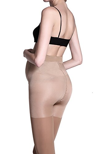 Stocking-Fox-Womens-2-Pack-40-Denier-Pregnant-Mama-Maternity-Tight