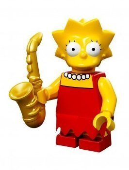 LEGO 71005 The Simpson Series Lisa Simpson Character Minifigures