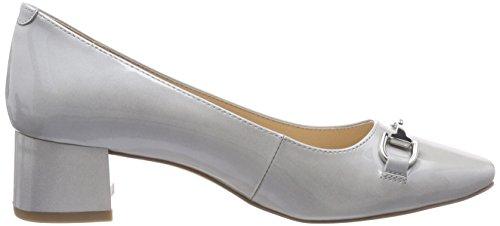 para 22314 240 Zapatos Patent Mujer Tacón Gris de Caprice Grey wIFSxPgqPn