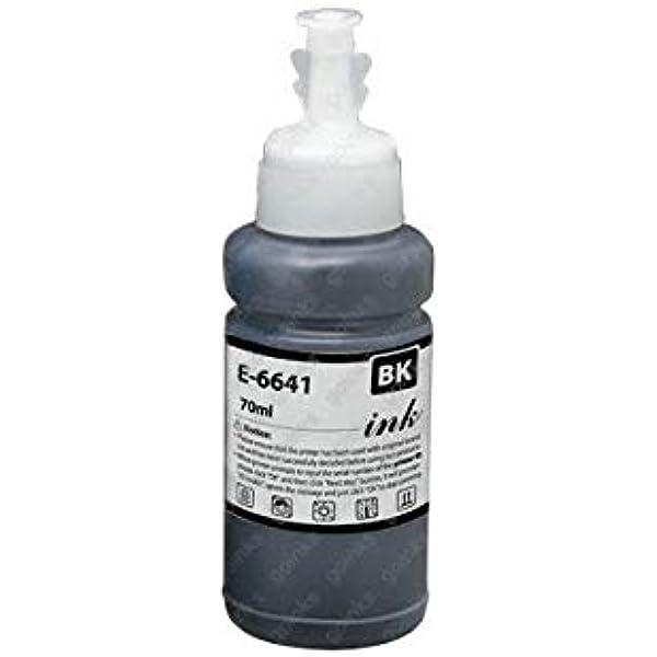 Epson T6641 - Cartucho de tinta para impresoras para Epson L100 ...
