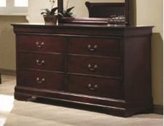 Coaster Home Furnishings 203973 Traditional Dresser, Cherry