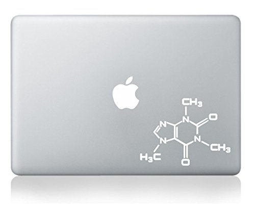 Caffeine Molecule Molecular Model Sticker product image