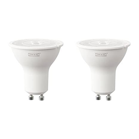 Ikea Ryet Ampoule Led Gu10 3 W 200 Lm Lot De 2 Amazon Fr