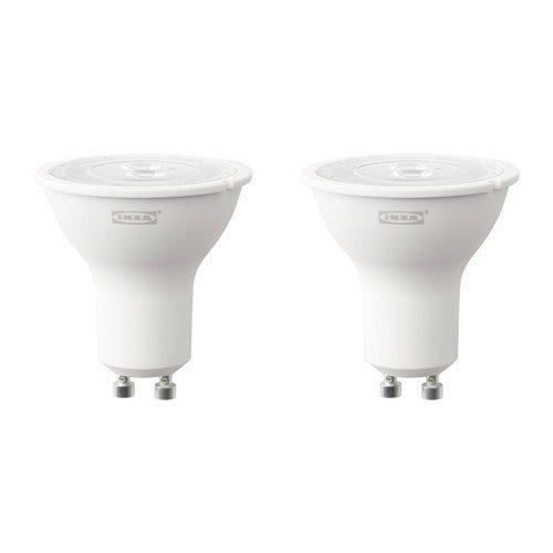 IKEA ryet Bombilla LED GU10 de 3 W, 200 lúmenes, 2 unidades)