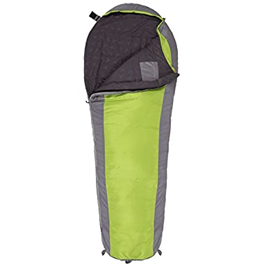 TETON Sports TrailHead 20F Ultralight Sleeping Bag Perfect for Backpacking, Hiking, and Camping, Green/Grey