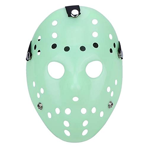Party Diy Decorations - 6 Styles Dance Gathering Jason Mask Bronze Color Cosplay Halloween Hockey Party Festival Horror - Jason Rockys Vorhee Hola Plastic Mickeys Hockey Mask Die Festival ()