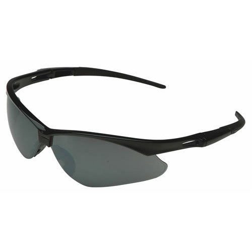 Nemesis Safety Glasses, Black Frame, Smoke Mirror Lens Jackson Safety Inc 3000356 9187519