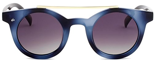 """PRIVÉ REVAUX ICON Collection """"The Reagan"""" Handcrafted Designer Round Polarized Sunglasses - Glasses Medical With Card"""