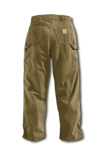 Canvas Carhartt Jeans (Carhartt Relaxed Fit Canvas Carpenter Jeans, Golden Khaki, 6 x 30L)
