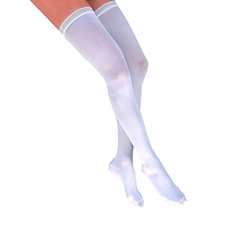 Jobst Anti-Embolism Closed Toe Thigh Highs w/Silicone Ban...