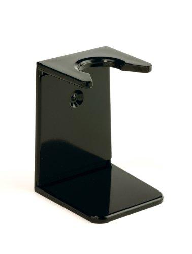 Edwin Jagger Black Small Neck Shaving Brush Drip Stand RH6s