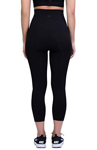 bc95096c31adf7 Belly Bandit - Mother Tucker Capri Leggings for Women - Slim and Shape Your  Silhouette -