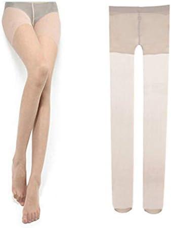 Mujeres y - Ultra Thin Sexy Soft Ladies Mujeres Medias Transparentes Pantimedias Medias de Color Nylon Buena Elasticidad Durable Resistente al Desgaste - Color de Piel