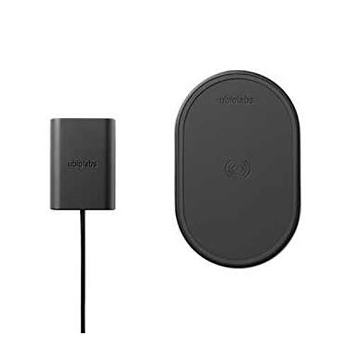 Ubio Labs 10W Qi wireless pad, 9VDC wall adaptor 2 Pack
