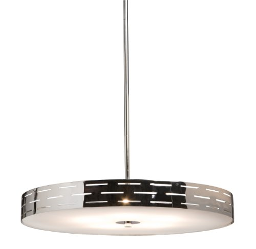 Artcraft Lighting Seattle Mini Chandelier, Polished (Polished Chrome Mini Chandelier)