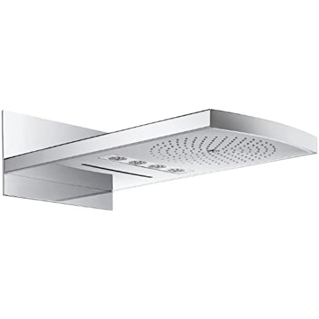 Hansgrohe Head Shower Raindance Rainfall 3jet White Chrome With Licht