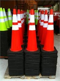 36 construction cones - 2
