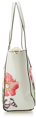 Rosie Tote Tote Pearl Patent white Off Leather Women's SwankySwans gnAxRq4R