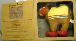 (13 inch Brown Camel with Wrinkled Knees Raggedy Ann Doll)