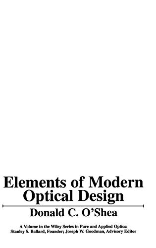 Elements of Modern Optical ()
