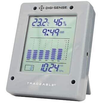 Digi-Sense Digital Barometer with NIST-Traceable Calibration