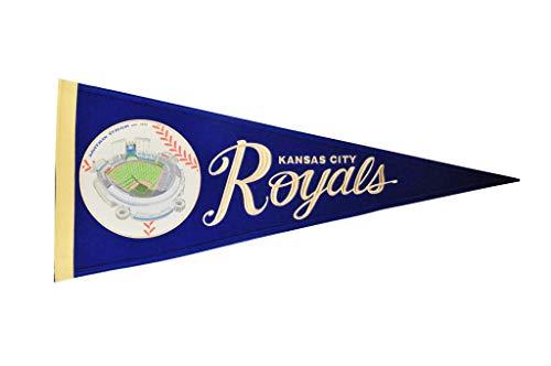 (Kansas City Royals Vintage Ballpark Traditions Pennant (Large 13x32))