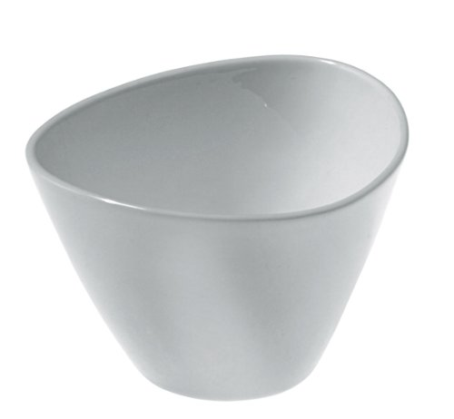 Alessi Colombina 4-Inch by 3-1/4-Inch Bone China Teacup, Set of 6