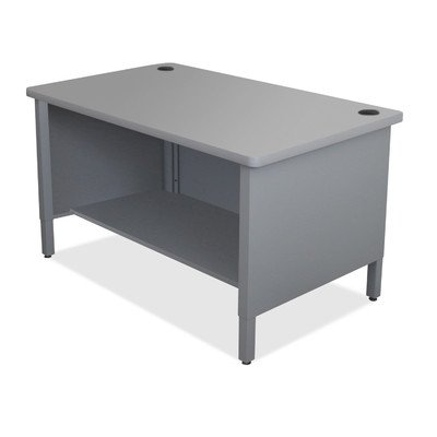 Mailroom 48'' H x 30'' D Utility Sorting Table Finish: Gray