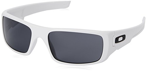 Oakley Men's Crankshaft Rectangular, Polished White/Grey 60 ()