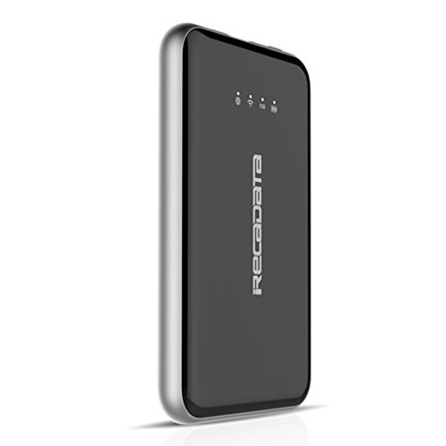 External Solid State Drive iRecadata I7 Portable 128GB Wireless WIFI SSD USB 3.1 Type C Companion Mini Wifi Repeater 2250 mAh Power Bank by irecadata