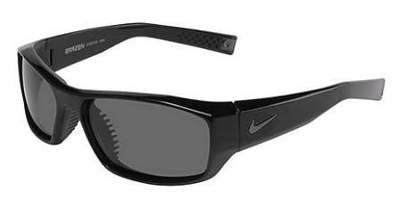 new product f2910 6f173 NIKE Men s Brazen P EV0572 Sunglasses, (Matte Black Grey Max Polar),