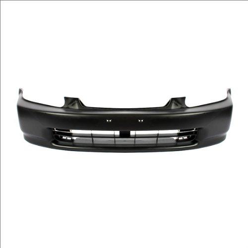 CarPartsDepot, Front Bumper Facial Cover Primered Black Plastic, 352-20131-10-PM HO1000172 04711S01A00ZZ