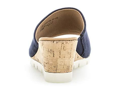 Gabor Di confortevole Estate comfort mehrweite Donna Zeppa 840 piatta kork scarpe 22 sandali River Con piattaforma platform rrz4xRwBq
