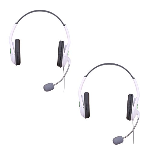 HDE Headset for Xbox 360 Console and Live Service Two for sale  Delivered anywhere in USA