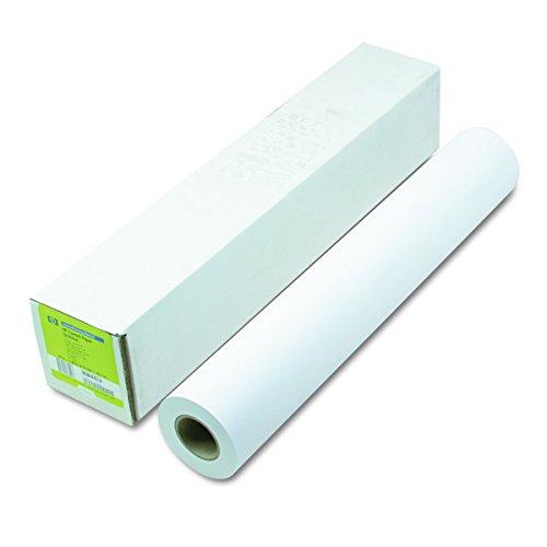 HP Q1404B Designjet Inkjet Large Format Paper,4.9 mil, 24