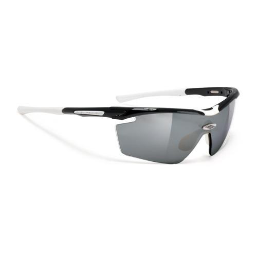 Rudy Project Genetyk Sunglasses Black-White - Project Sunglasses