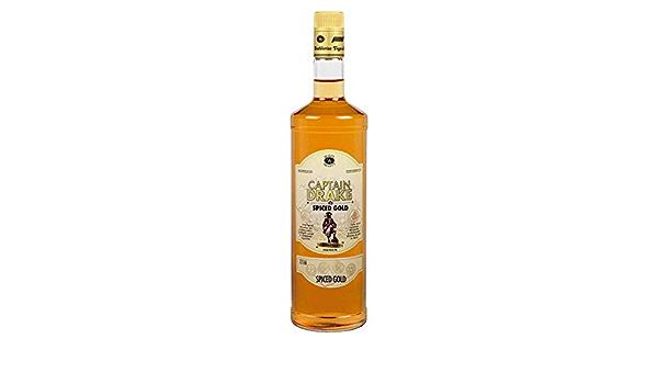RON CAPTAIN DRAKE SPICED GOLD 70 CL.: Amazon.es: Alimentación ...