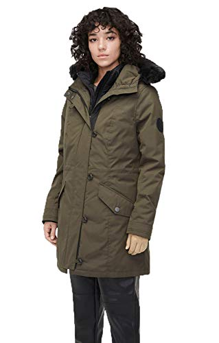 UGG Women's Adirondack Parka, Dark Olive, s, used for sale  Delivered anywhere in USA