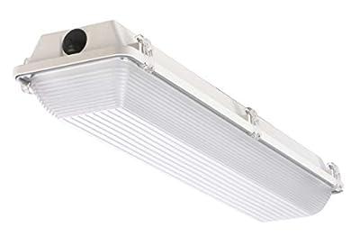 Atlas Lighting Products ILW25LED2D 2' 25 Watt LED Wet Location, 4148K Color Temperature, 2252 Lumens, 24.39 Watts