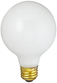 Feit Electric 40G25/W/MP/12 Frosted 40-watt G25 Vanity and Decorative Bulb