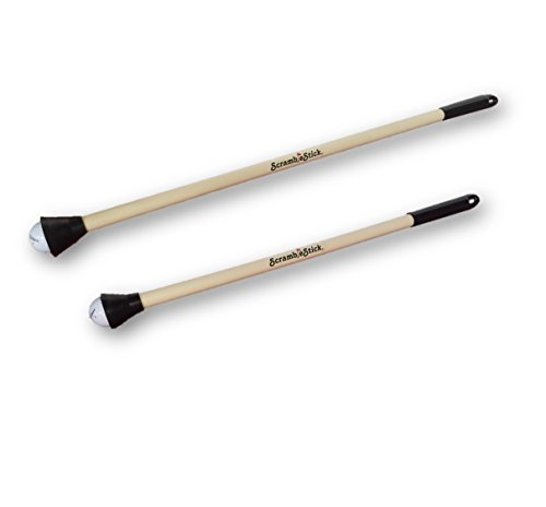 The Original Scramble Stick Golf Ball Retriever, One 32-Inch and One 26-Inch, 2-Pc Set by Scramble Stick