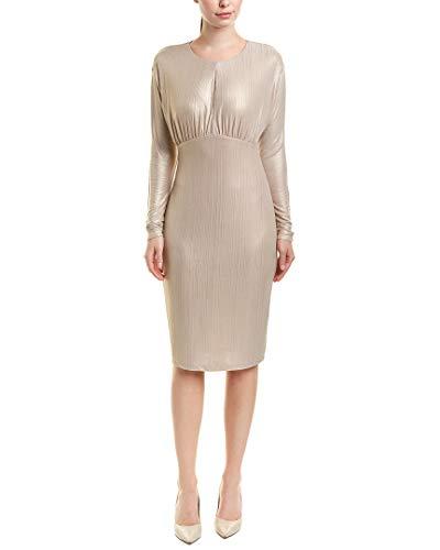 (Alexia Admor Womens Cocktail Dress, M, Metallic)