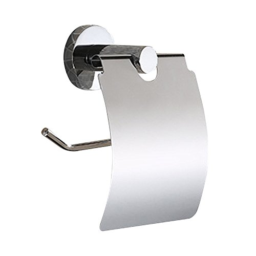 Victorian Wall Mounted Soap Dispenser (Kaimao Stainless Steel Toilet Paper Holder with Cover, Wall Mounted Toilet Roll Holder)