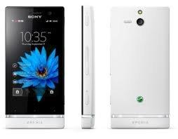 Sony Xperia U St25i (White+ 1 Additional Bottom Cap):Unlocked GSM Phone by Sony