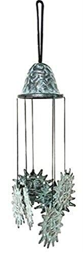 Ky & Co YesKela Celestial Bodies Solar Sun Artistic Brass Resonant Relaxing Wind Chime Patio