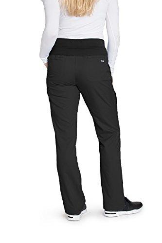 Grey's Anatomy 4277 Straight Leg Pant Black M by Barco (Image #2)