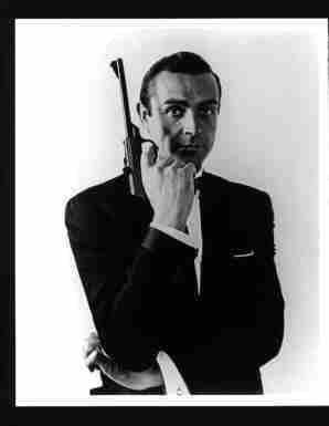 Photo Sean Connery as James Bond 007