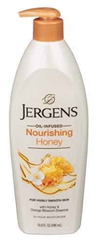 Jergens Nourishing Honey 16.8 Ounce Dry Skin Moisturizer (496ml)