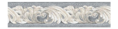 York Wallcoverings Architectural Scroll Border